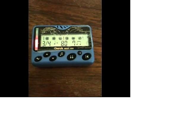 Cherub WSM-100 intelligent metronome | LA Music