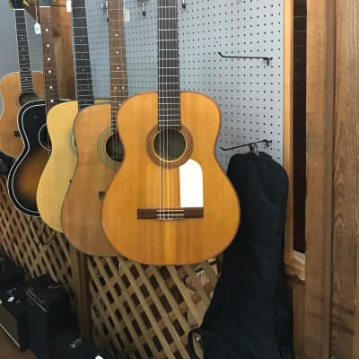 Rare Vintage Goya G-25 1956 Natural Flame Maple Classical for sale