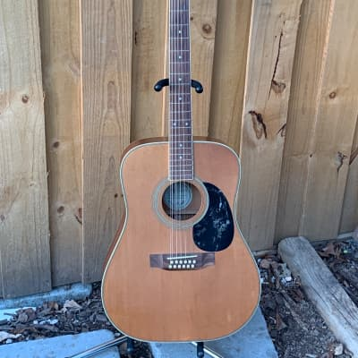 JB Player JBA 1200-12 Dreadnought 12-String Natural Solid Top for sale