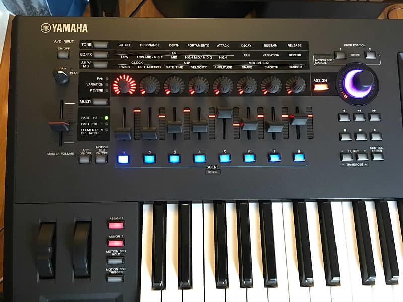 Like New Yamaha Montage 6 61-key Flagship Synthesizer *Ships