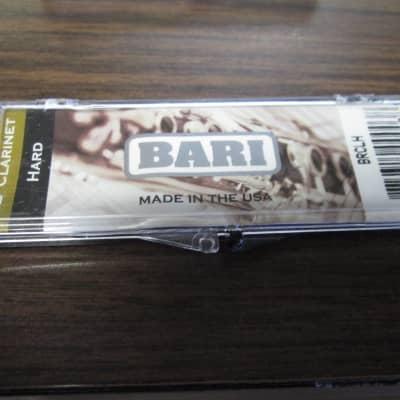 BARI clarinet synthetic reed HARD 2010s