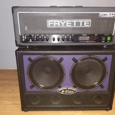 VHT/Fryette Pitbulll CL100 90's Black W/ Genz Benz Cabinet for sale