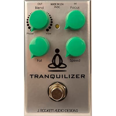J Rockett Audio Designs TRQ Tranquilizer Tour Phase Vibe Guitar Effects Pedal