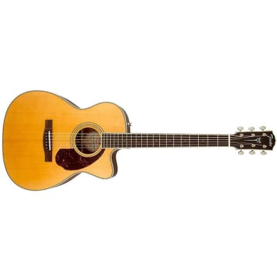 Fender 0960251221 Paramount PM-3 Standard Triple 0, Natural Acoustic Guitar with Electronics for sale