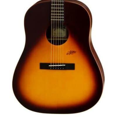 Aria MF240 Mayfair Series Dreadnought Acoustic Guitar in Matt Tobacco Sunburst for sale