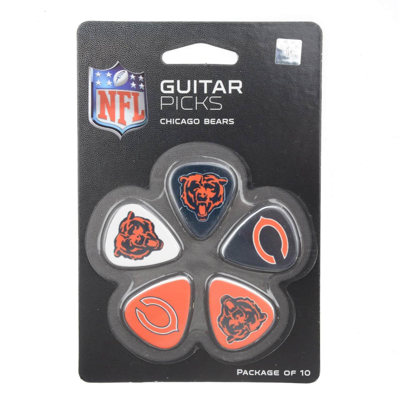 Auto Exchange Nj >> Woodrow Chicago Bears Guitar Picks 5 Pack | Reverb