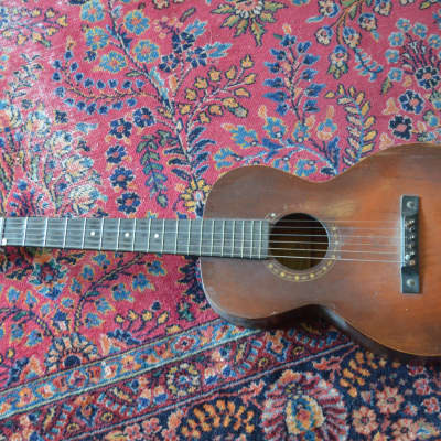 1930s Slingerland May Bell Parlor guitar project as is for sale
