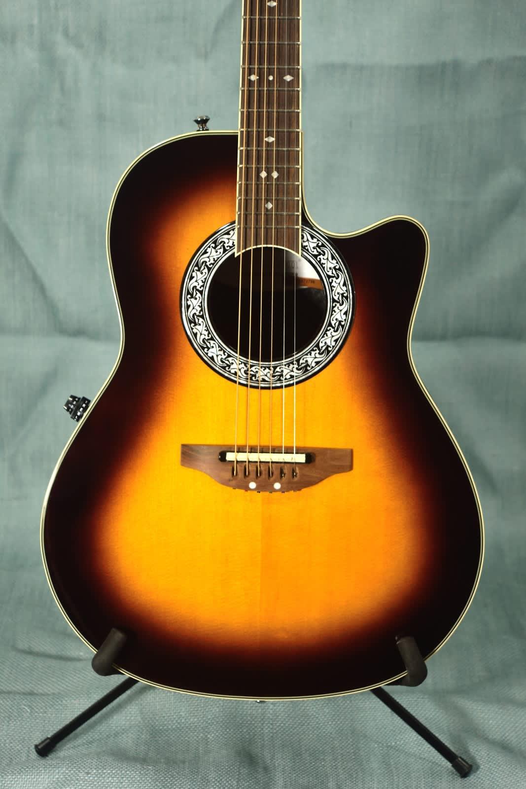 ovation 1771vl 1 pro balladeer acoustic electric guitar reverb. Black Bedroom Furniture Sets. Home Design Ideas