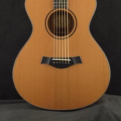 Taylor BTO# 6911 Left Handed Flame Maple/Cedar w/Full Factory Warranty for sale