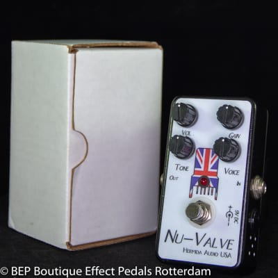 Hermida Audio Nu-Valve Tube Overdrive 2010 hand built and signed by Mr. Alfonso Hermida