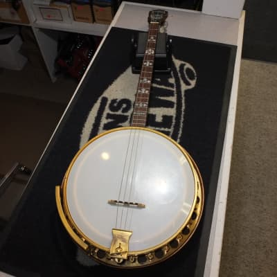 Paramount Aristocrat William A. Lange 1920's Natural 4 string banjo for sale