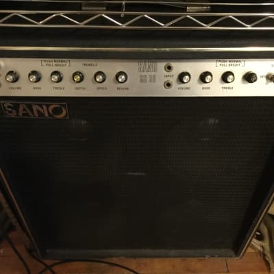 Sano GS30 4x10 30 Watt Tube Guitar Combo with orignal Reverb and Footswitch for sale