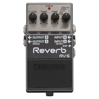 BOSS RV-6 Reverb Guitar Pedal for sale
