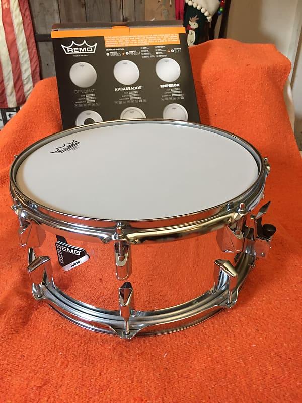 remo snare drum 7 x 14 acousticon r chrome bn music reverb. Black Bedroom Furniture Sets. Home Design Ideas