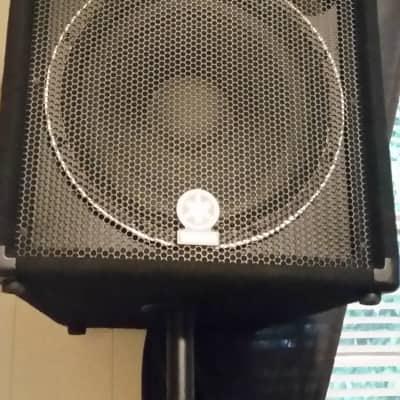 Yamaha Club V Series SM15V Black pair