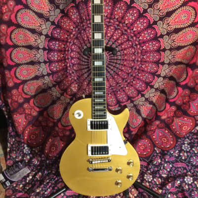 Cortez Japan Made Single Cutaway Gold Top W/OHSC for sale