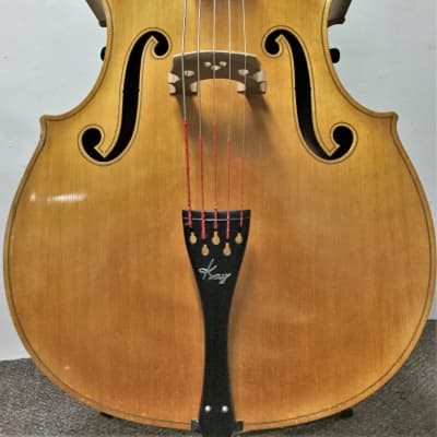 Kay S-51B. 5 String Acoustic Bass. 1953. Blonde. Chubby Jackson. for sale