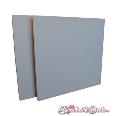 GeerFab Acoustics ProZorber Acoustic Panels Coin 24x24x1 Soundproofing Sound Treatment