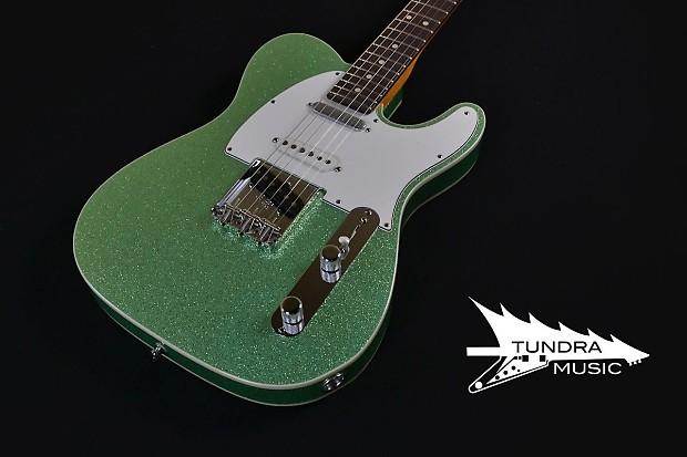 Fender Custom Shop Nashville American Telecaster Custom NOS - SeaFoam  Sparkle