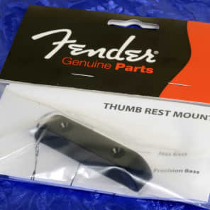 Genuine Fender USA Vintage Series Bass Thumb Rest With Mounting Screws 0992036000