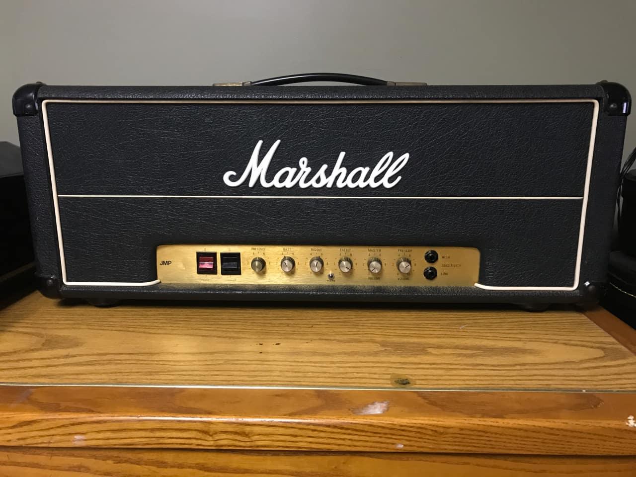 1978 marshall jmp mkii 50w 2204 modded reverb. Black Bedroom Furniture Sets. Home Design Ideas