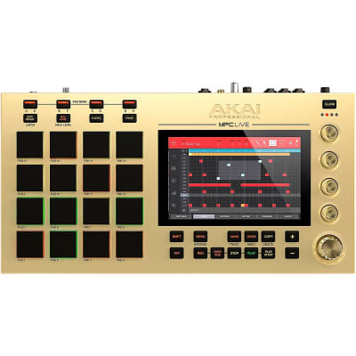 Akai MPC Live Gold Standalone Sampler/Sequencer