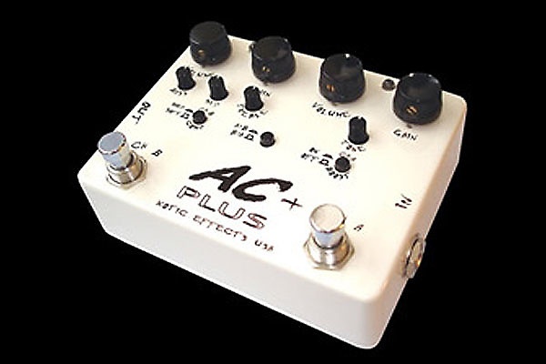 xotic ac plus dual booster guitar pedal reverb. Black Bedroom Furniture Sets. Home Design Ideas