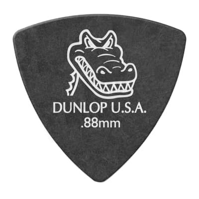 Dunlop 572P088 Gator Grip Small Triangle .88mm Guitar Picks (6-Pack)