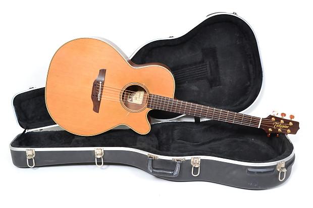 takamine ean40c nex natural acoustic electric guitar hard reverb. Black Bedroom Furniture Sets. Home Design Ideas