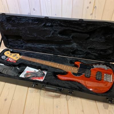 Fender Fender American Deluxe Dimension Bass IV HH 2018 Cayenne for sale