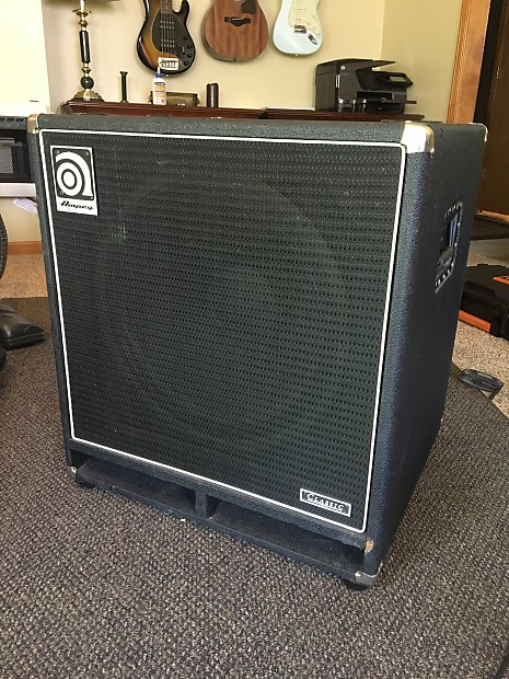Ampeg SVT-18 Bass Cab | Reverb
