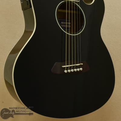Ibanez TCY10 Talman Acoustic Electric Guitar in Black