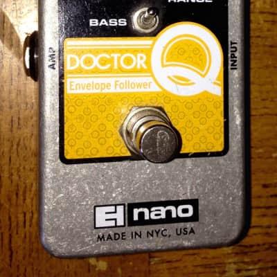 Electro-Harmonix Nano Doctor q envelope follower filter guitar effects pedal