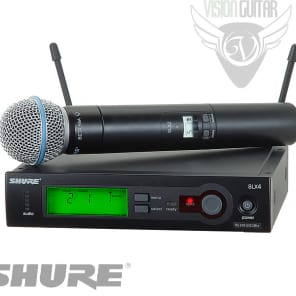 Shure SLX24/BETA58 Handheld Wireless System (SLX24/BETA58-J3)