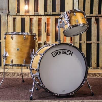 Gretsch Broadkaster Satin Classic Maple Drum Set - 14x22, 8x12, 16x16