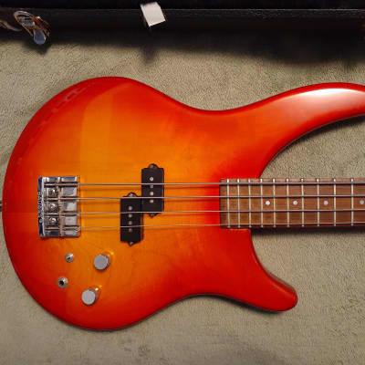 Vintage Vancouver Canada Luthier Attila Balogh Odyssey neck thru Bass Guitar w/hard case atilla for sale