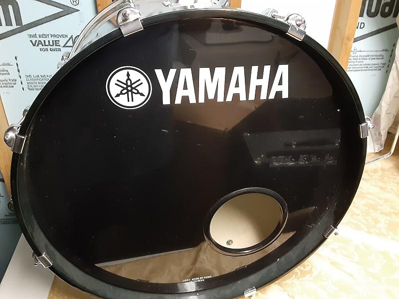 yamaha stage custom 7pc 1990 39 s transparent teal reverb. Black Bedroom Furniture Sets. Home Design Ideas