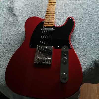 Crook Telecaster 2009 pearlised sunset orange for sale