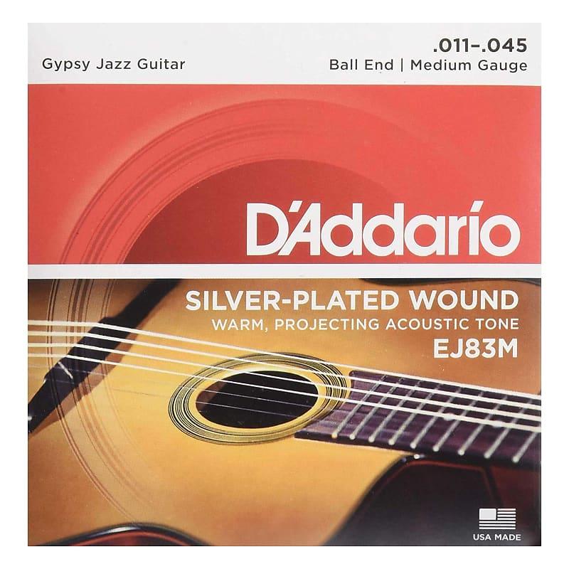 d 39 addario ej83m gypsy jazz acoustic guitar strings ball reverb. Black Bedroom Furniture Sets. Home Design Ideas