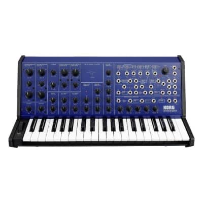 Korg MS-20 FS Limited EditionMonophonic Synthesizer - Blue