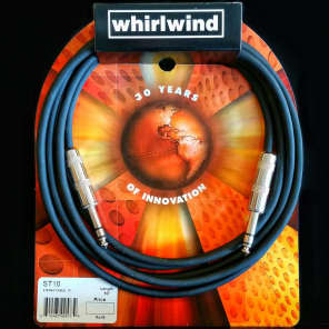 "Whirlwind ST10 1/4"" TRS Cable - 10'"