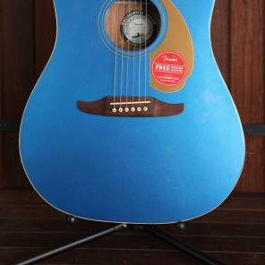 Fender California Player Redondo Acoustic-Electric Belmont Blue for sale