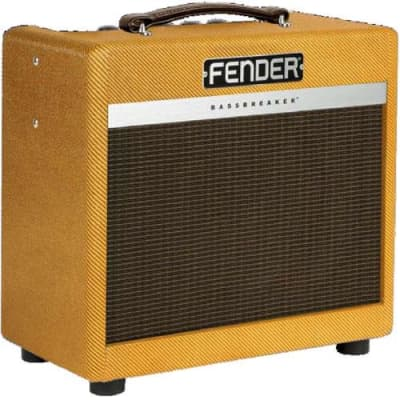Fender Limited Edition Bassbreaker 007 Lacquered Tweed Combo Amplifier with 1x 10  Celestion G10 Speaker
