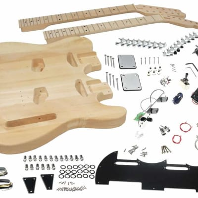 Solo DTCK-1 DIY Electric Double Neck Guitar Kit