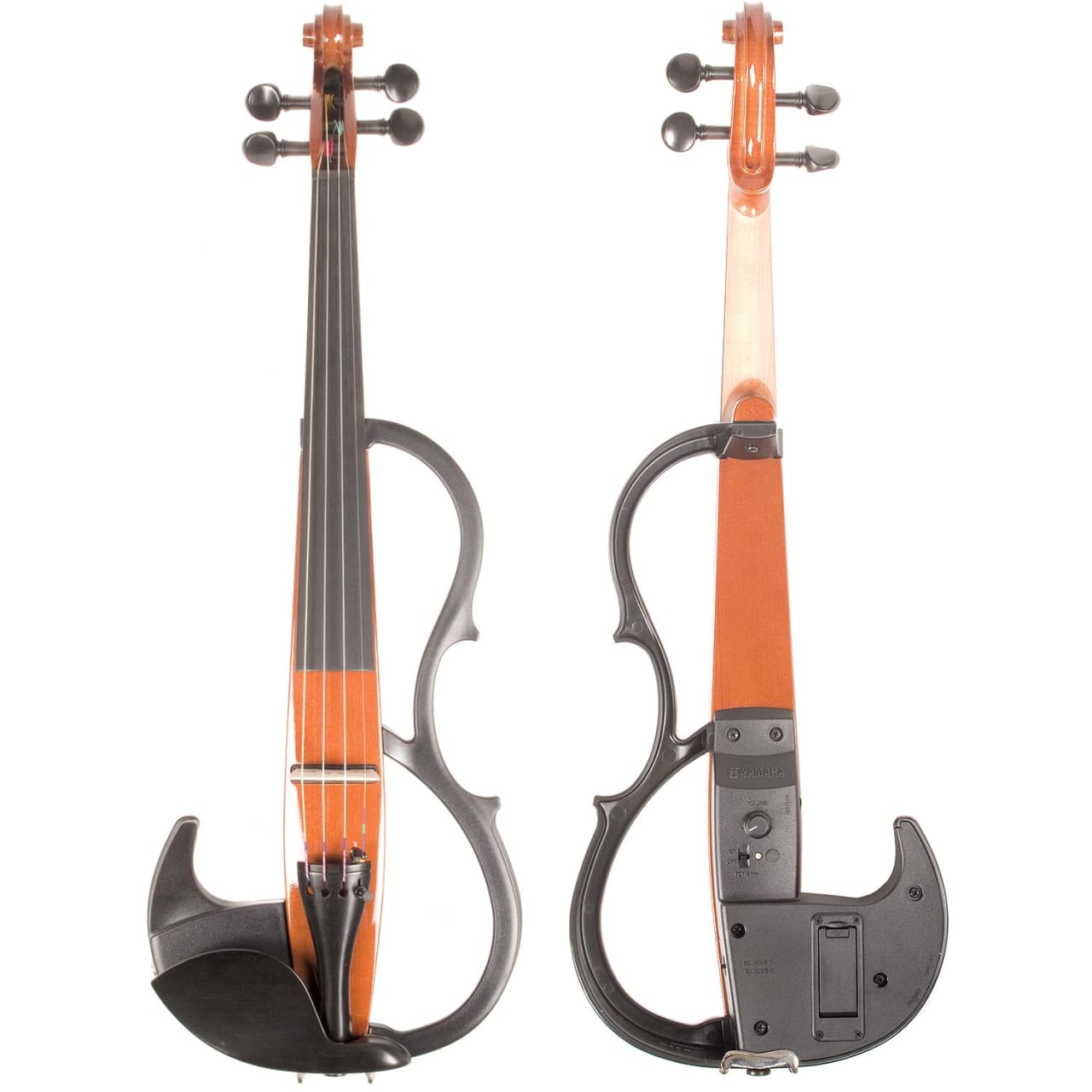 Yamaha sv 200 silent electric violin brown reverb for Yamaha svc 110sk silent electric cello brown