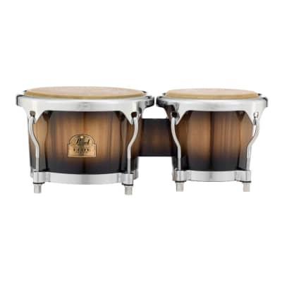 Pearl Elite Series Oak 7 & 9 Bongos Mocha Burst