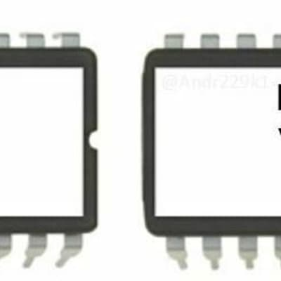 Ensoniq SQ-80 v1.80 set of OS ROMs (both lower and upper EEPROM included) SQ80