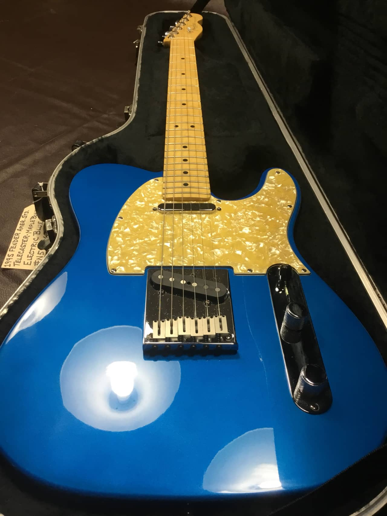 Fender American Standard Telecaster 1995 Electric Blue | Reverb