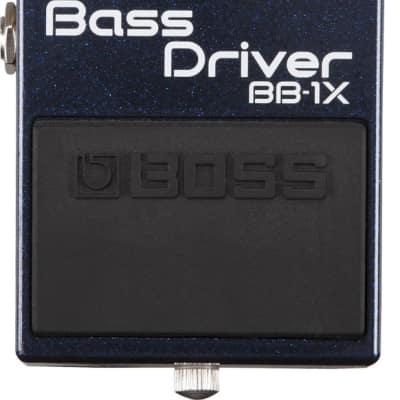 Boss BB-1X Bass Driver Effect Pedal for Bass Guitars; The Modern Solution For The Modern Bassist