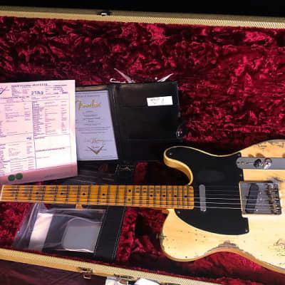 Fender Custom Shop '51 Reissue Nocaster Relic 2020 aged blonde for sale